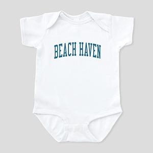 Beach Haven New Jersey NJ Blue Infant Bodysuit