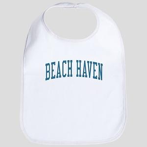 Beach Haven New Jersey NJ Blue Bib