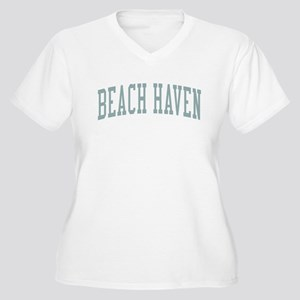 Beach Haven New Jersey NJ Green Women's Plus Size