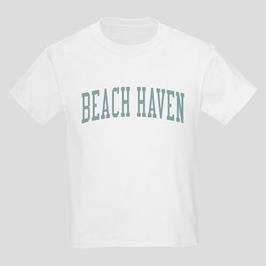Beach Haven New Jersey NJ Green Kids Light T-Shirt