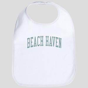 Beach Haven New Jersey NJ Green Bib