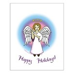 Holiday Angel Small Poster