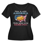 American Pie anti-socialist Women's Plus Size Scoo