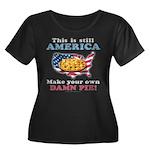 American Pie anti-socialist Women's Plus Size Scoo