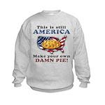 American Pie anti-socialist Kids Sweatshirt