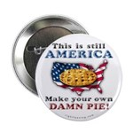 "American Pie anti-socialist 2.25"" Button (10"
