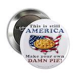 "American Pie anti-socialist 2.25"" Button (10"