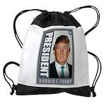 President Donald J. Trump Drawstring Bag