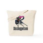 discdogger.com disc logo Tote Bag