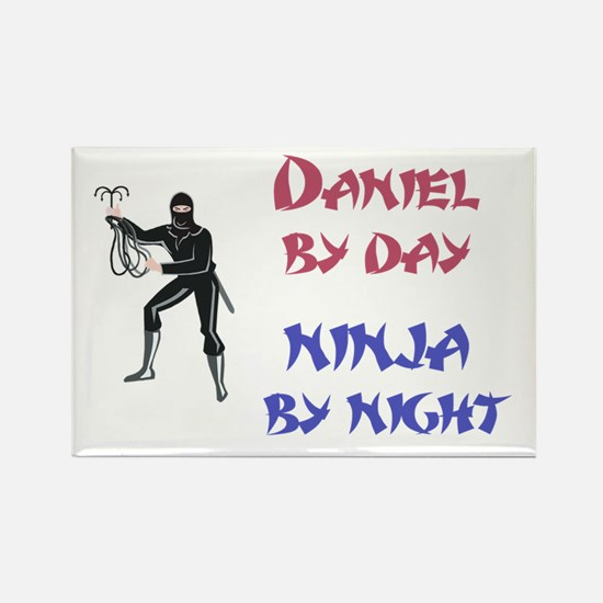 Daniel - Ninja by Night Rectangle Magnet