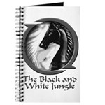 Black and White Jungle Journal
