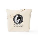Black and White Jungle Tote Bag