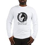 Black and White Jungle Long Sleeve T-Shirt