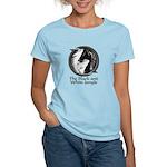 Black and White Jungle Women's Light T-Shirt