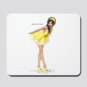 Sealed with a kiss Mousepad
