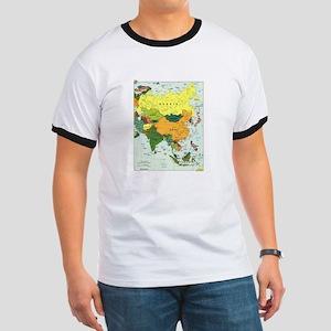 Asia Map Ringer T