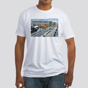 Salt Lake City Utah UT Fitted T-Shirt