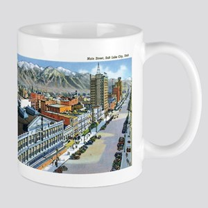 Salt Lake City Utah UT Mug