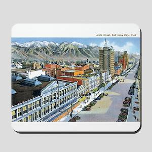 Salt Lake City Utah UT Mousepad
