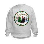 XmasMusic1/Dachshund #17 Kids Sweatshirt