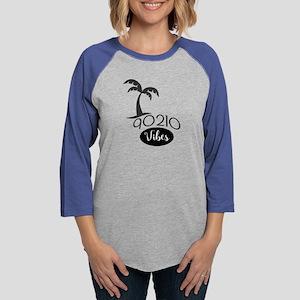 90210 Vibes Womens Baseball Tee