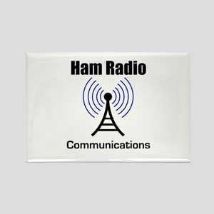 Ham Radio Communications Rectangle Magnet