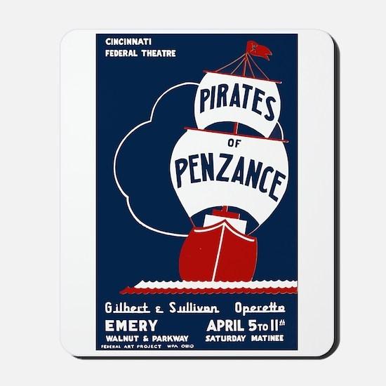 Pirates of Penzance Mousepad