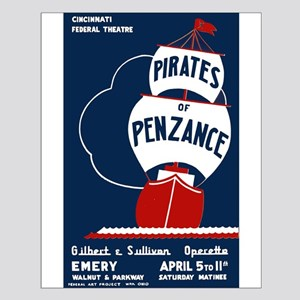 Pirates of Penzance Small Poster