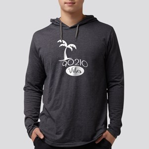 90210 Vibes Mens Hooded Shirt