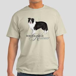 Border Collie Rescue Light T-Shirt