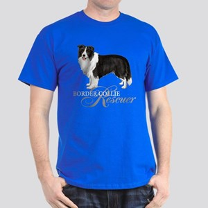 Border Collie Rescue Dark T-Shirt