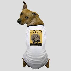 Zoo Hippo Dog T-Shirt
