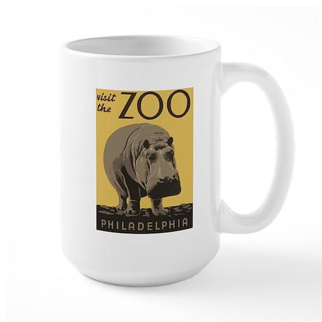 Zoo Hippo Large Mug