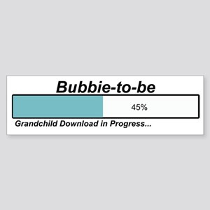 Download Bubbie to Be Bumper Sticker