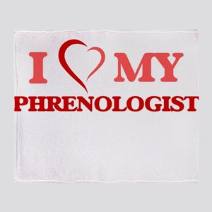 I love my Phrenologist Throw Blanket