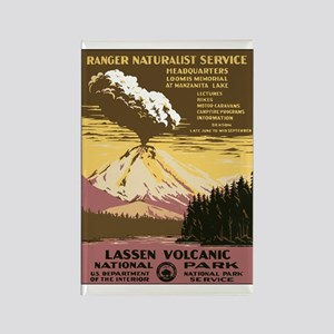 Lassen Park Rectangle Magnet