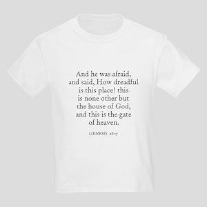 GENESIS  28:17 Kids T-Shirt