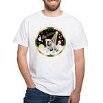 Night Flight/EBD #1 White T-Shirt