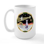 Wisemen/Whippet #8 Large Mug