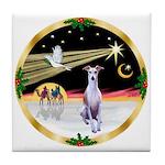 Wisemen/Whippet #8 Tile Coaster