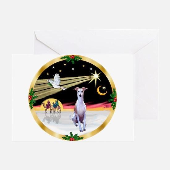 Wisemen/Whippet #8 Greeting Card