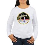 Wisemen/Whippet #8 Women's Long Sleeve T-Shirt
