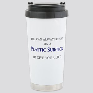 Plastic Surgeon Stainless Steel Travel Mug