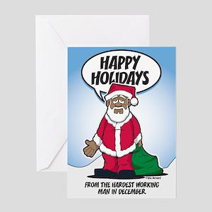 Brotha Claus Greeting Card
