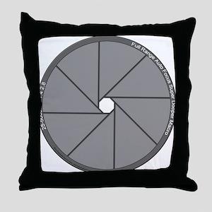 Million Dollar Lens Throw Pillow