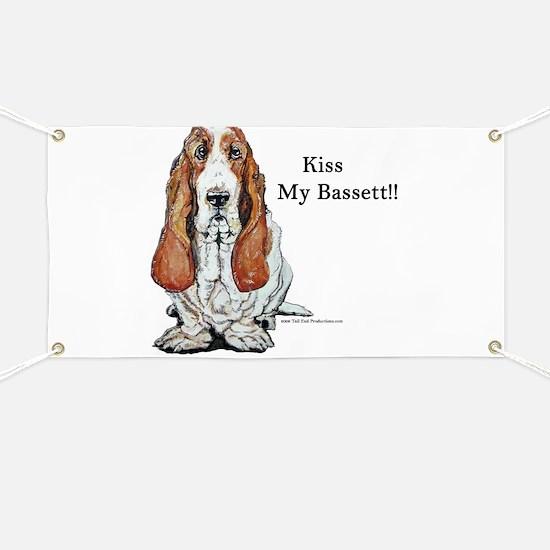 Kiss My Bassett!! Banner