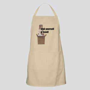 Give Yourself A Hand BBQ Apron