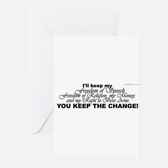 Keep the Change! Greeting Cards (Pk of 10)