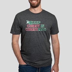 Keep Christ cross Mens Tri-blend T-Shirt