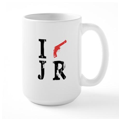 I Shot J.R. Large Mug